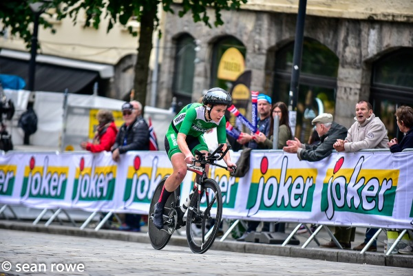 Cycling Ireland   Burns Makes World Championship Debut in Norway
